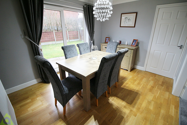 Dining Room of Churnet Close, Westhoughton BL5