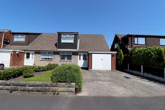Thumbnail Semi-detached bungalow for sale in Lulworth Drive, Hindley Green, Wigan