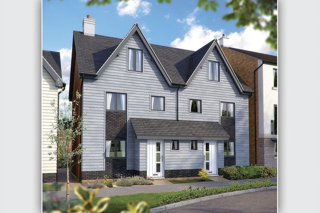 """Thumbnail Semi-detached house for sale in """"The Tetbury"""" at Harbour Road, Seaton"""