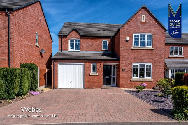 Thumbnail Detached house for sale in Sanstone Road, Bloxwich, Walsall