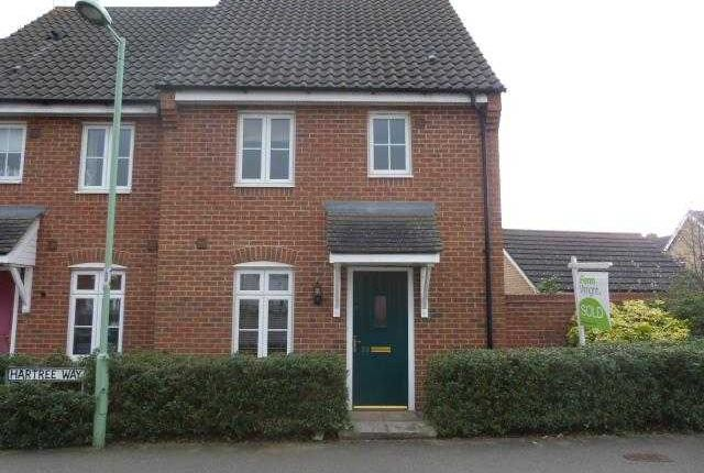 Thumbnail Semi-detached house to rent in Hartree Way, Kesgrave, Ipswich