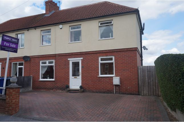 Thumbnail Semi-detached house for sale in Hawthorne Crescent, Dodworth, Barnsley