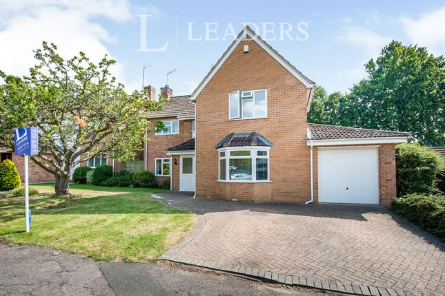 Thumbnail Detached house to rent in Newcourt Park, Charlton Kings, Cheltenham