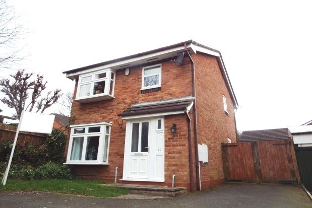 Thumbnail Property to rent in Sunbury Avenue, Lichfield