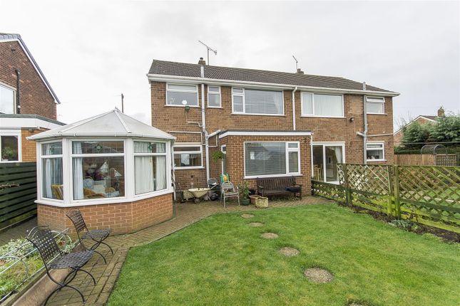 Thumbnail Semi-detached house for sale in Paton Grove, Brimington, Chesterfield