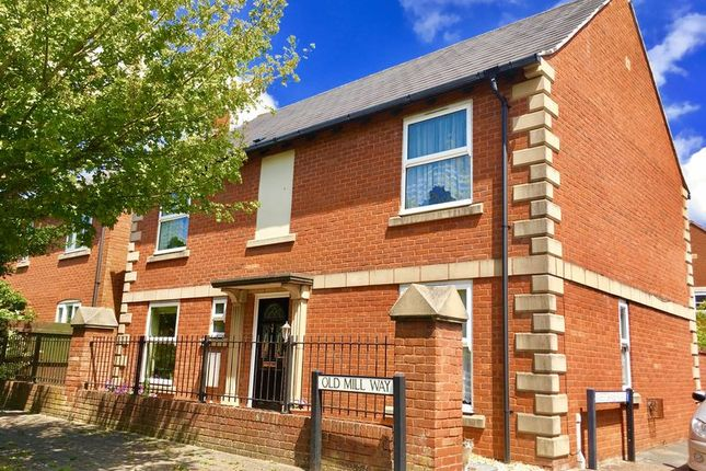 Thumbnail Detached house for sale in Old Mill Way, Weston Village, Weston-Super-Mare