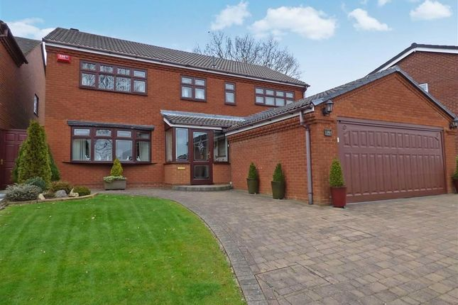 Thumbnail Detached house for sale in Holder Drive, Cannock, Staffordshire