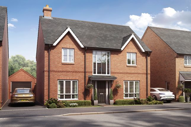 """Thumbnail Detached house for sale in """"The Fulford"""" at Boorley Green, Winchester Road, Botley, Southampton, Botley"""