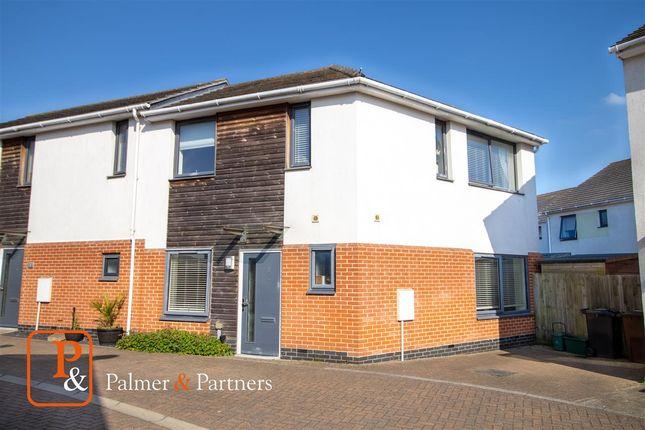 Semi-detached house for sale in Broad Oak Lane, Colchester