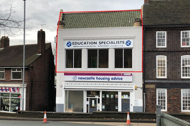 Thumbnail Office to let in 63A Lower Street, Newcastle-Under-Lyme, Staffordshire