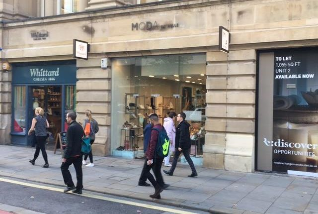 Thumbnail Retail premises to let in 4 Market Street, Royal Exchange, Manchester
