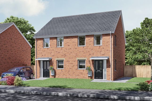 2 bedroom semi-detached house for sale in Kestrel Court, Coupe Green