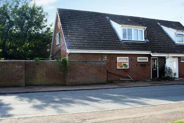 Thumbnail Semi-detached house for sale in Hammond Close, Norwich, Norfolk