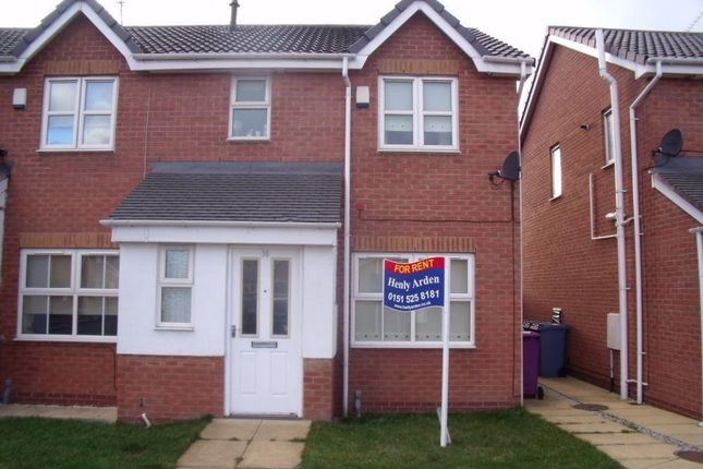 Thumbnail Semi-detached house to rent in Stonefont Close, Walton, Liverpool