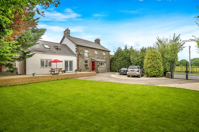 Thumbnail Detached house for sale in Church Road, Gelligaer, Hengoed