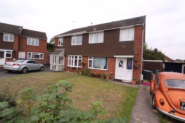 Thumbnail Semi-detached house to rent in Gibson Drive, Hillmorton, Rugby