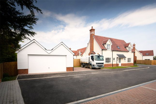 Thumbnail Detached house for sale in The Street, High Roding, Dunmow, Essex