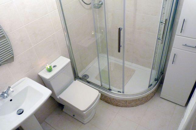 Shower Room of Calder Tower, St Leonards, East Kilbride G74