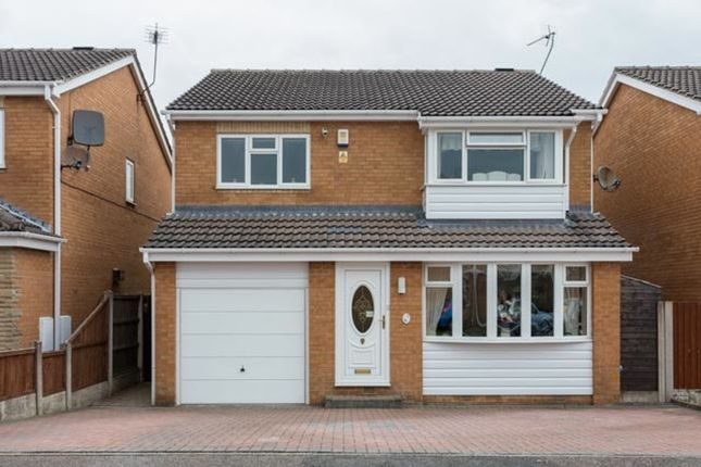 4 bed detached house for sale in Biggin Close, Chesterfield, Derbyshire