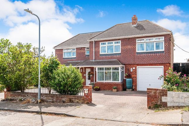 Thumbnail Detached house for sale in Sea View Road, Cliffsend, Ramsgate