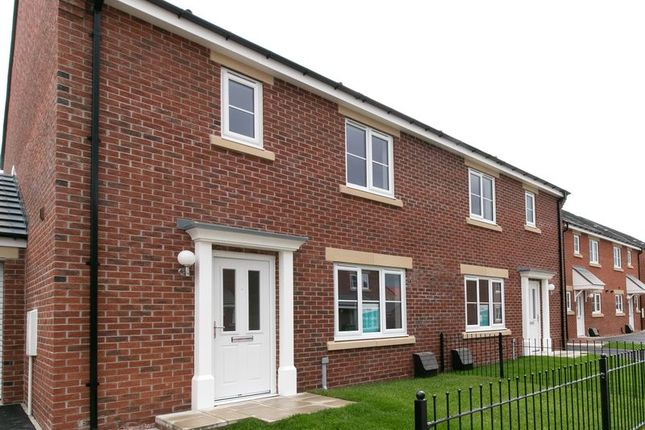 Thumbnail 3 bed semi-detached house for sale in The Hampstead, Queensgate, Stockton-On-Tees