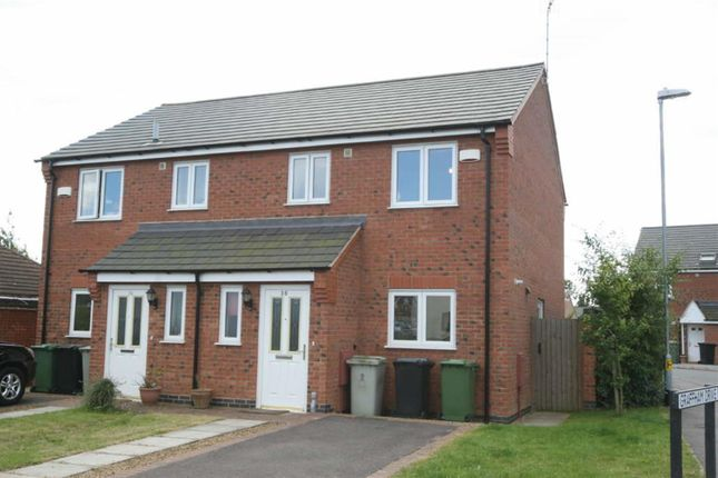 Thumbnail Semi-detached house to rent in Braunston Road, Oakham