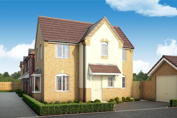 "Thumbnail Property for sale in ""The Pine At Porthouse Rise, Bromyard, Hereford"" at Porthouse Rise, Bromyard"