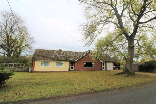 Thumbnail Detached bungalow for sale in Waterhouse Lane, Ardleigh, Colchester, Essex