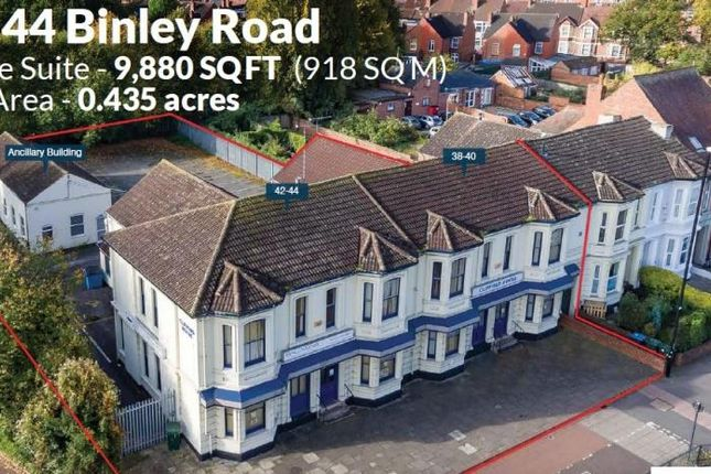 Thumbnail Commercial property to let in 38-44 Binley Road, Coventry