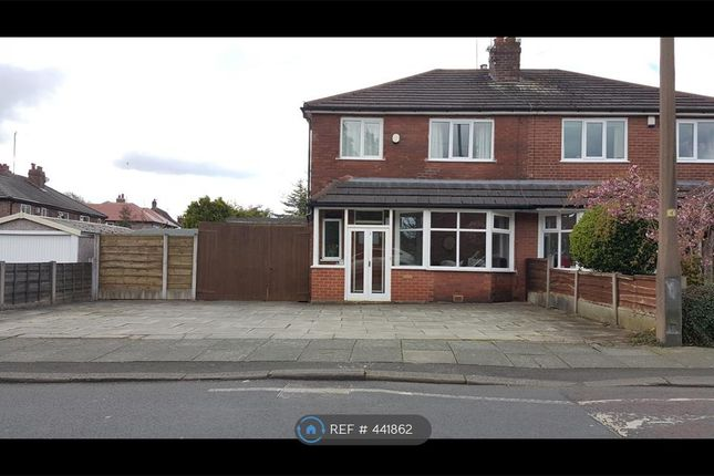 Thumbnail Semi-detached house to rent in Birch Road, Manchester