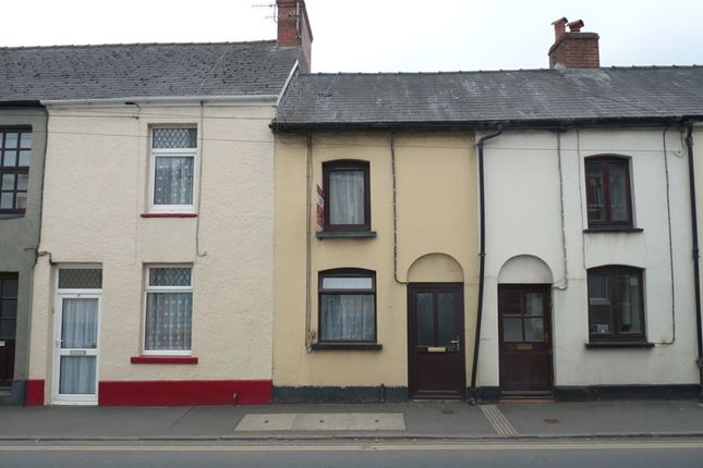 Thumbnail Terraced house to rent in Orchard Street, Llanfaes, Brecon