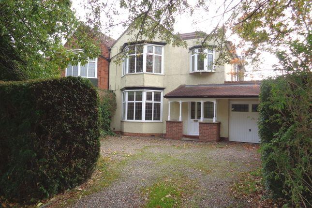 Thumbnail Semi-detached house to rent in Cottingham Road, Cottingham Road, Hull