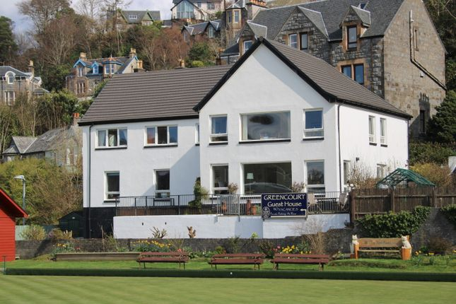 Thumbnail Hotel/guest house for sale in Greencourt Guest House, Benvoullin Road, Oban