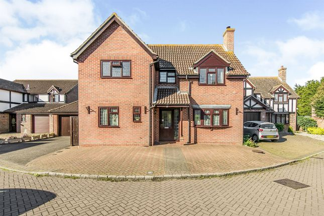 Thumbnail Detached house for sale in Burr Close, Ramsey, Harwich
