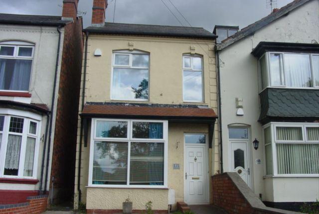 Thumbnail Semi-detached house to rent in George Road, Erdington