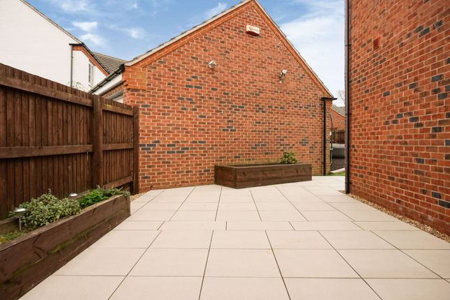 Side Garden of Bosworth Way, Leicester Forest East LE3