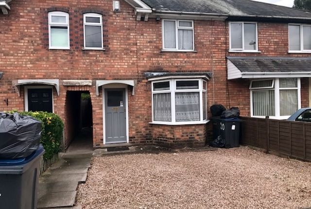 Thumbnail Terraced house to rent in Caversham Road, Kingstanding, Birmingham