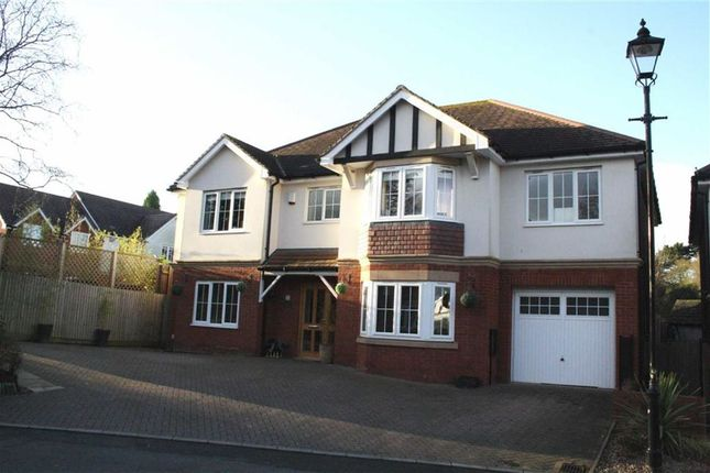 Thumbnail Detached house for sale in Abbot Close, Kirby Muxloe, Leicester