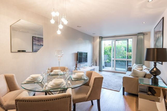 Thumbnail Flat for sale in Doulton House, Chelsea Creek, Fulham
