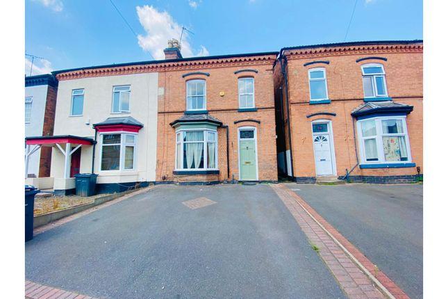 Thumbnail Semi-detached house to rent in Trafalgar Road, Birmingham