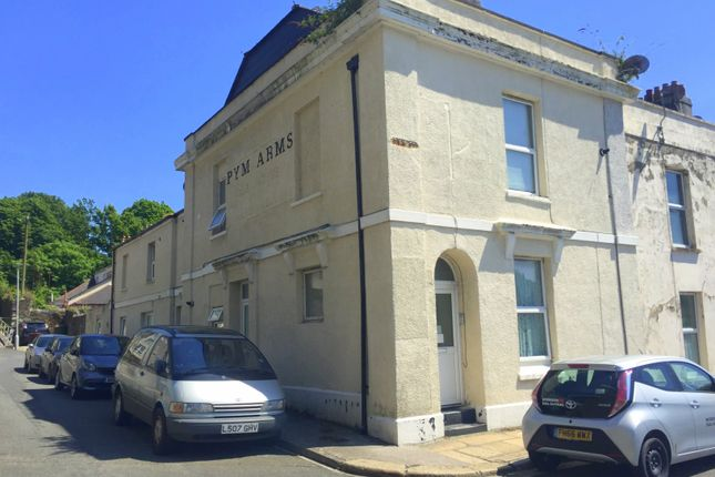 Thumbnail End terrace house for sale in Pym Street, Stoke, Plymouth