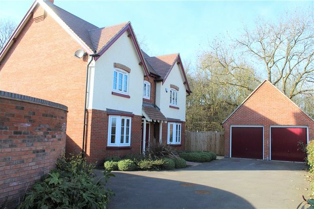 Thumbnail Detached house for sale in Adderley Avenue, Weddington, Nuneaton, Warwickshire