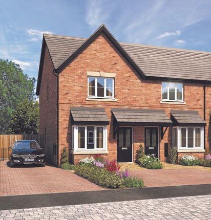 Thumbnail End terrace house for sale in Chelmsley Lane, Marston Green