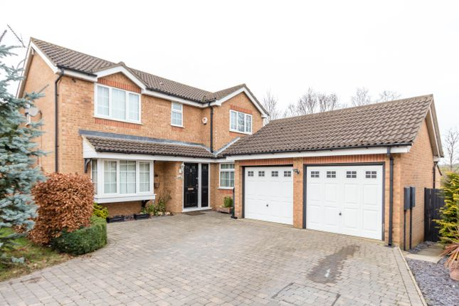 Thumbnail Detached house for sale in Haddon Close, Wellingborough