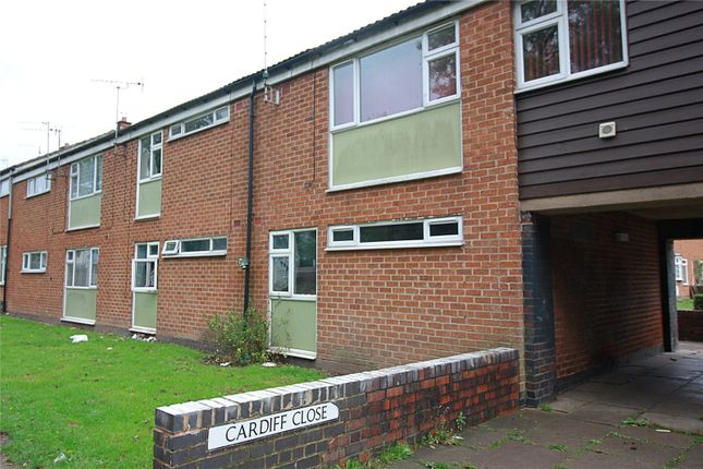 Thumbnail Maisonette to rent in Cardiff Close, Willenhall, Coventry