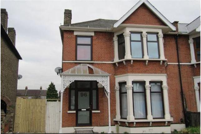 Thumbnail Semi-detached house for sale in Felbridge Road, Goodmayes
