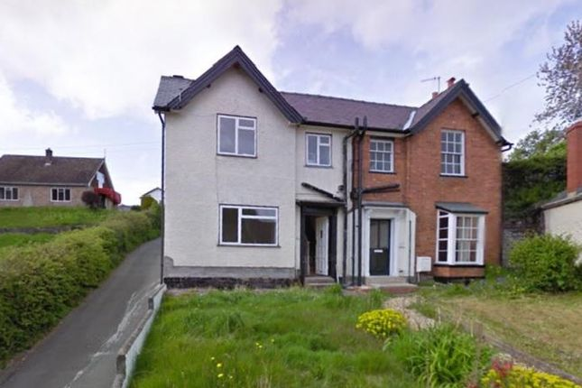 Thumbnail Semi-detached house to rent in Castle Bank, Knighton, Powys