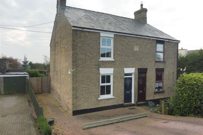 2 bed semi-detached house for sale in Main Street, Prickwillow, Ely