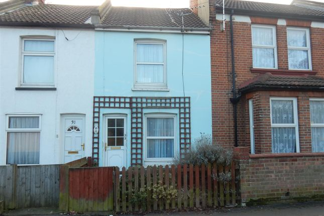 Thumbnail Terraced house to rent in Coppins Road, Clacton-On-Sea