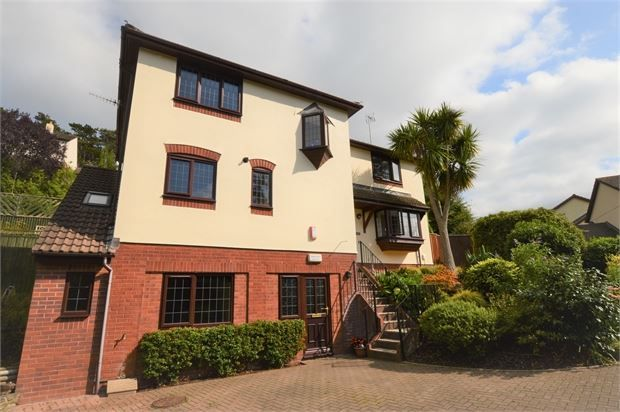 Thumbnail Detached house for sale in Larksmead Close, Ogwell, Newton Abbot, Devon.